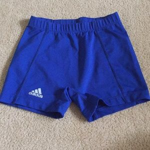 Adidas blue spandex